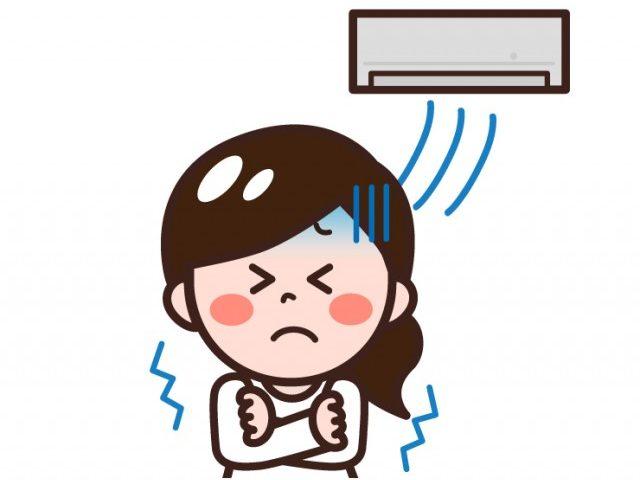 クーラー病(冷房病)と冷えの関係性 (品川区 大井町みはらし通り鍼灸・整骨院 西大井駅前鍼灸・整骨院)